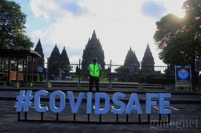 Candi Prambanan Jelang New Normal