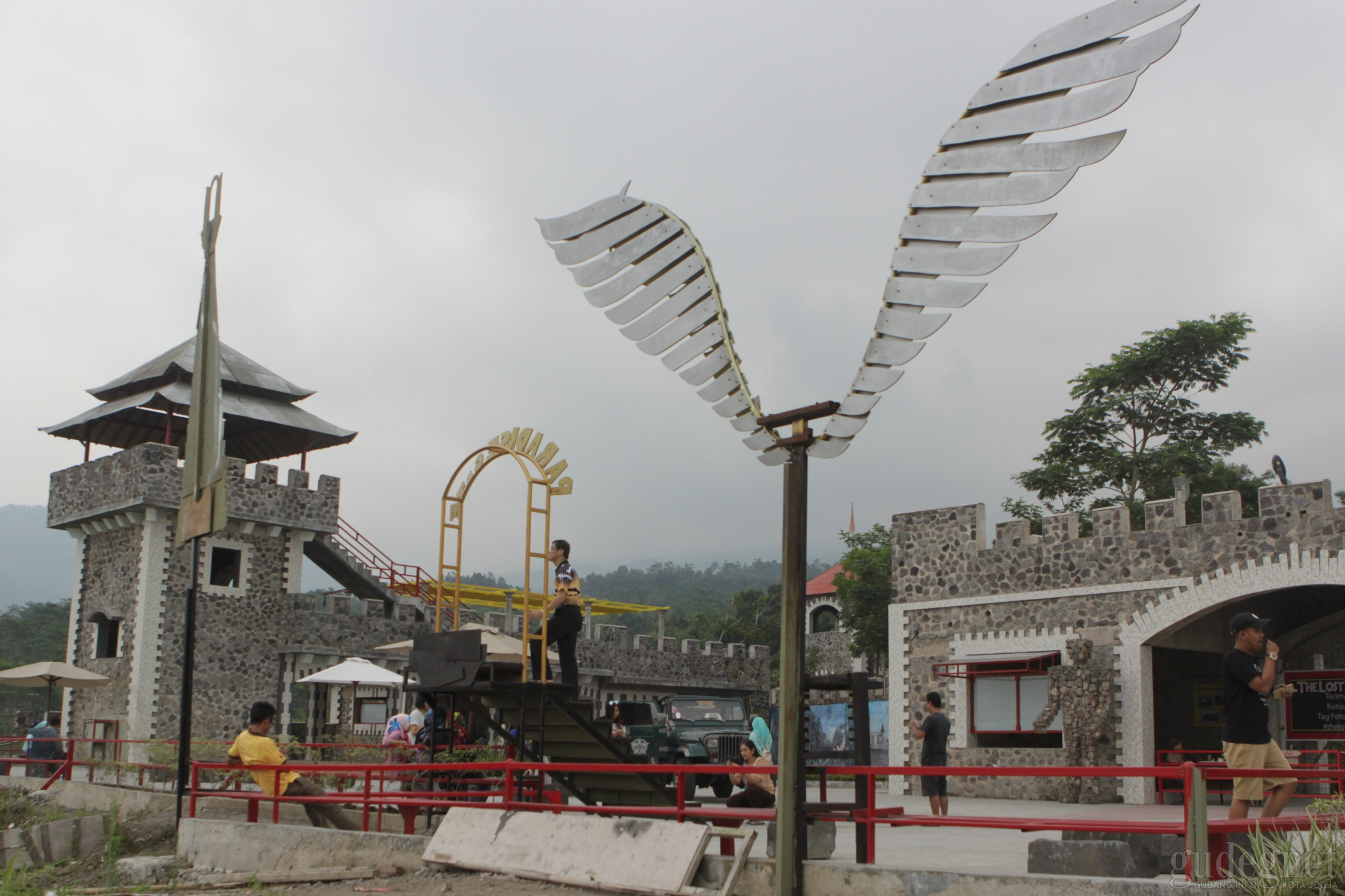 The Lost World Castle Jogja Yogya Gudegnet