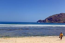 Keindahan Pantai Wediombo yang menggoda