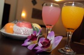 Welcome Drink di Hotel Aryuka