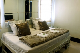 Kamar di Villa Padi
