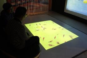Menikmati simulasi kehidupan ikan di Gedung Oval