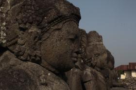 Arca Budha di Candi Plaosan