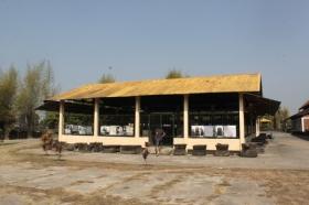Rumah Arca di Candi Sewu