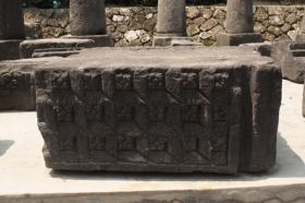 Reruntuhan Relief yang Ditemukan di Candi KalasaN