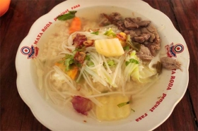 Sop daging, menu favorit di SGPC Bu Wiryo