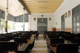 ruang pertemuan museum Sasmitaloka