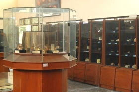 interior museum Geoteknologi Mineral Yogyakarta