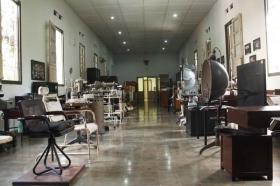 bagian dalam museum rs. mata dr. Yap