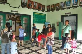 kunjungan wisatawan di museum