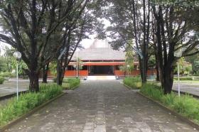 pepohonan di museum pangeran Diponegoro