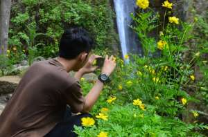 Menangkap keindahan alam Curug Siluwok