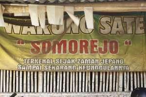 Sate mbah Somorejo yang terkenal sejak jaman Jepang