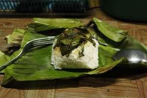 nasi bakar andalan angkringan Nganggo Suwe