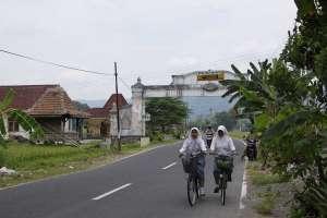 Gapura di desa Wukirsari