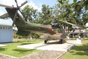 Koleksi helikopter NAS-332 Super Puma