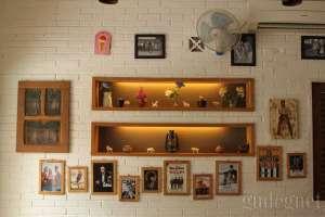 Interior Kedai Ice Cream Tip Top di jalan Cendrawasih