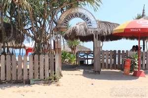 Salah satu pintu masuk Pantai Indrayanti