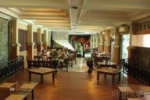 Interior rumah makan Bu Tjitro Yogyakarta