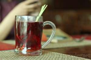 Wedang rempah khas rumah makan gudeg Bu Tjitro