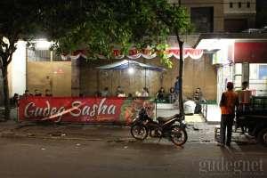 Bagian depan warung Gudeg Sasha Yogyakarta