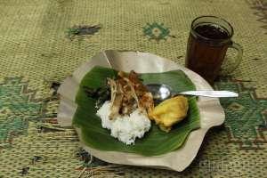 Gudeg suwir khas warung gudeg Sasha Yogyakarta