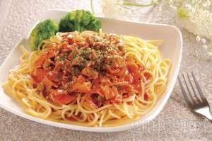 Menu Loving Hut - Spagheti With Red Sauce