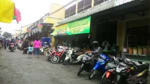 Sisi sebelah selatan Pasar Colombo