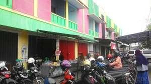 Bagian depan Pasar Colombo