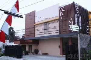 tampak depan griya mulya guesthouse