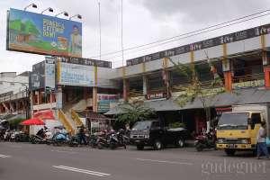 Bagian depan pasar Kranggan, Yogyakarta