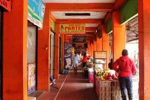 Selasar pasar Kranggan, Yogyakarta