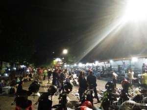 Suasana di Pasar Senthir