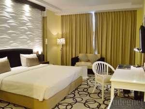 Kamar di Hotel New Saphir Yogyakarta