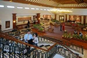 Lobby Jogjakarta Plaza Hotel