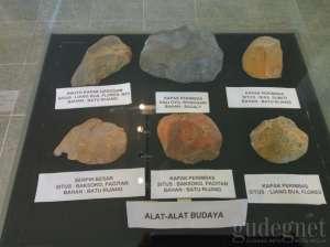Salah satu koleksi di Museum Bioantropologi dan Paleoantropologi