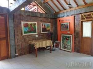 Ruang sanggar dan workshop di  Museum Taman Tino Sidin