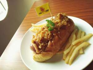 Wagyu Hotdog di Steak Addict