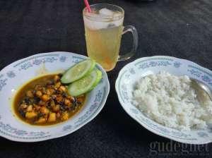 Menu Makanan di Sate Bekicot Kang Wisang