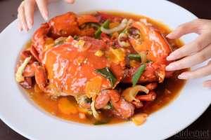King Crab saus padang