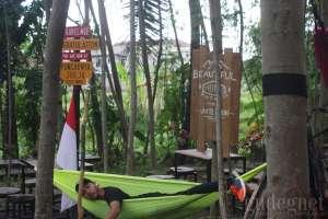 Puncaknya Jogja-urban Camping