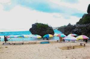 Suasana di Pantai Siung