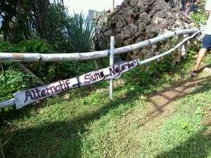 Ternyata dari pantai ini terdapat jalan alternatif menuju Pantai Nglambor