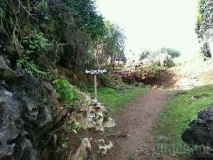 Rute menuju Tebing Siung