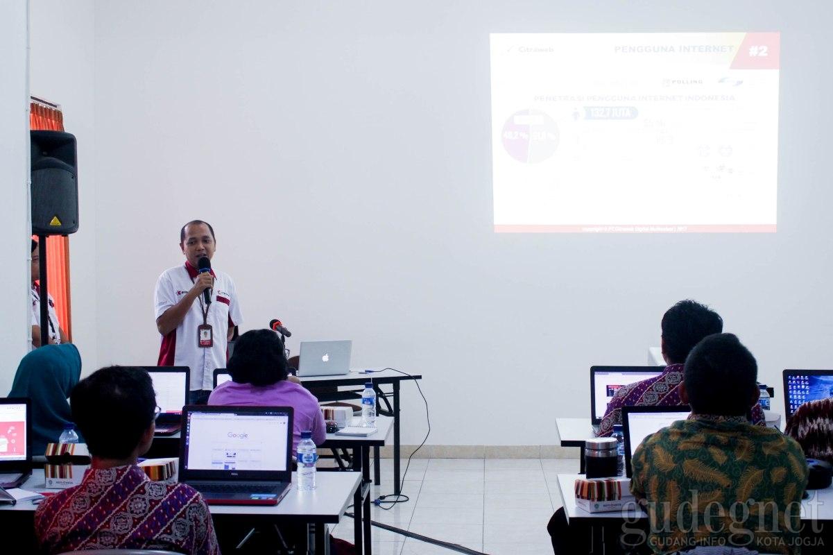 PT Citraweb Digital Mulitisolusi Adakan Workshop untuk Tenaga Pendidik