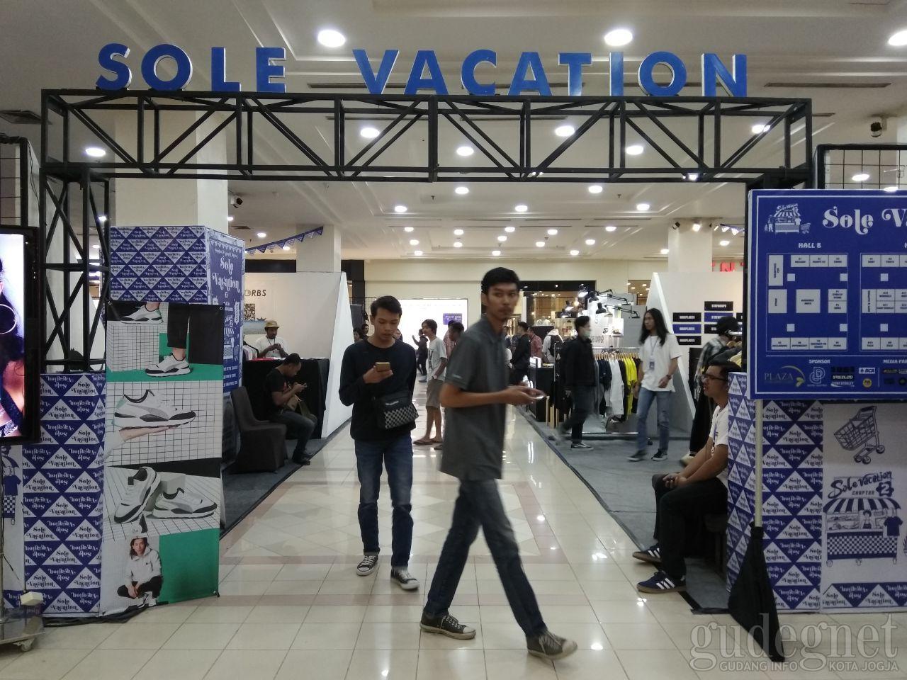 Solevacation, Sneaker and Apparel Market Hadir di Plaza Ambarrukmo