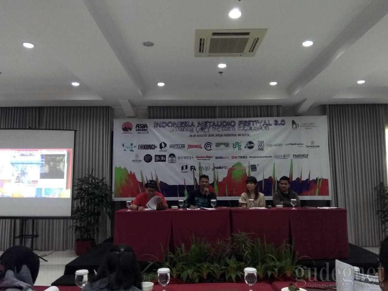 Indonesia Netaudio Festival 3.0, Mengkaji Budaya di Tengah Maraknya Pengguna Internet