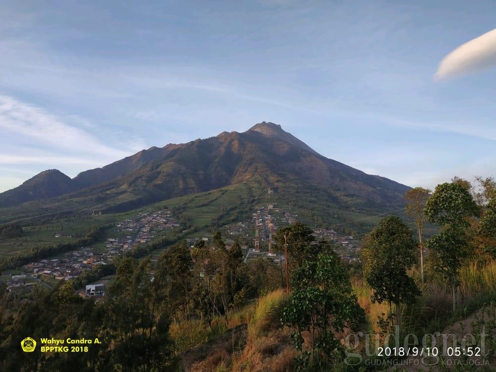 Volume Kubah Lava Merapi 93.000 m³, Laju Pertumbuhan Menurun