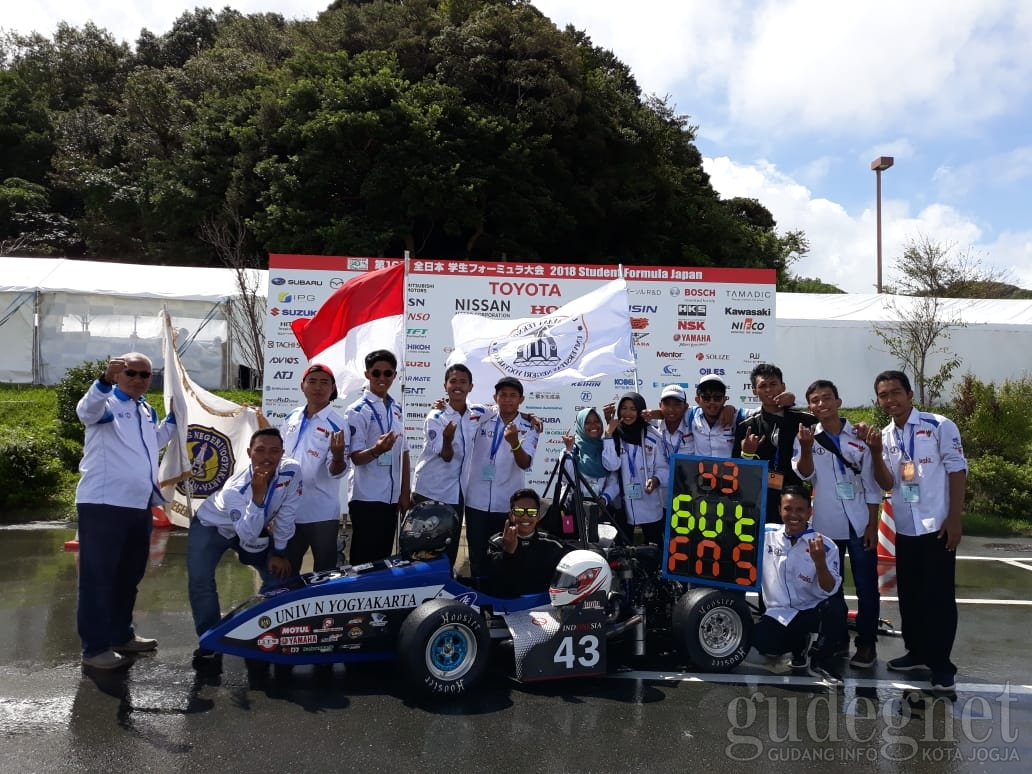 Student Formula Japan 2018, Garuda Team UNY Naik Peringkat