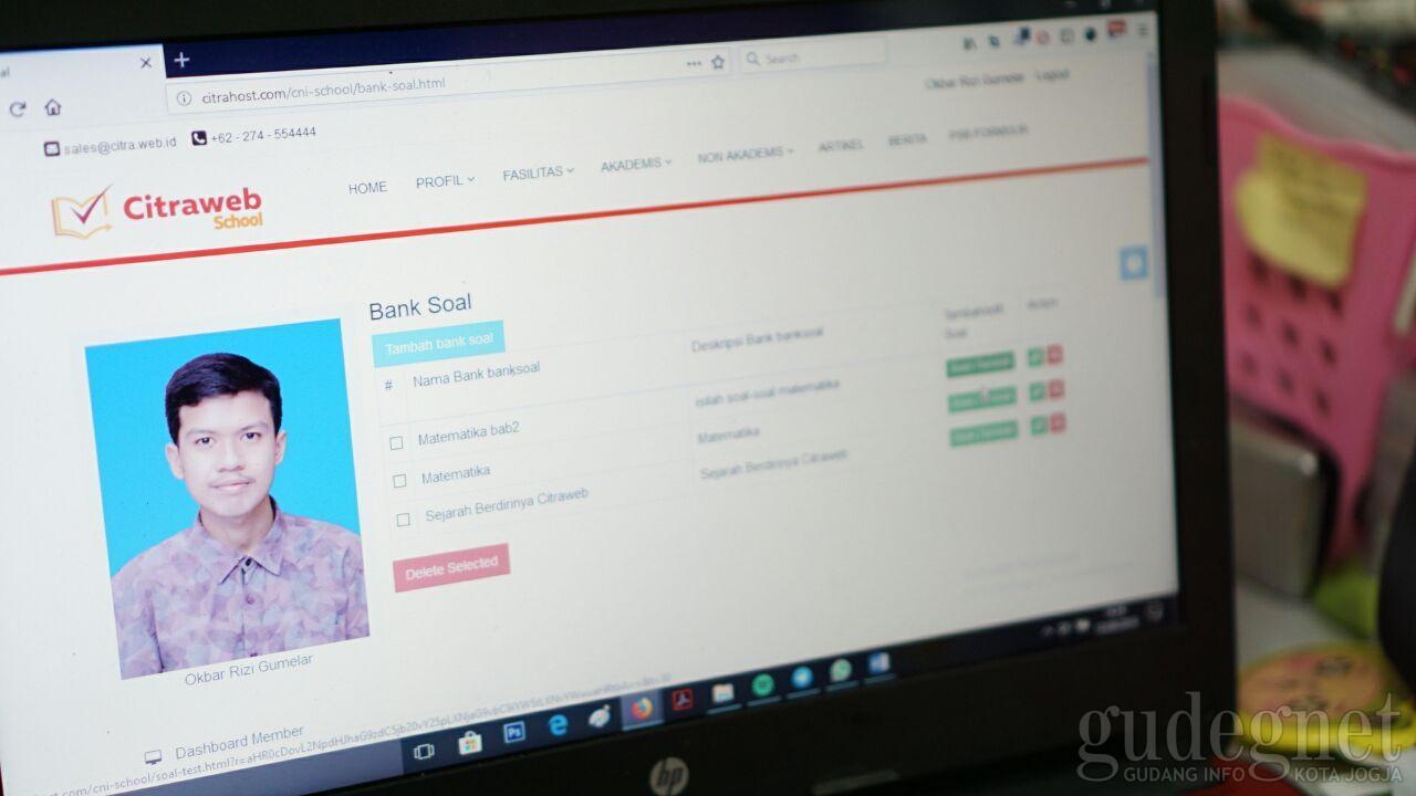Web Sekolah dengan Fitur Bank Soal Jadi Salah Satu Keunggulan Citraweb School